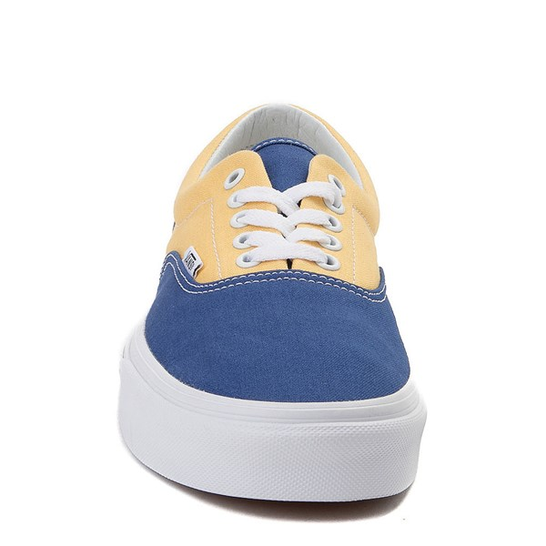alternate view Vans Era BMX Checkerboard Skate Shoe - Blue / YellowALT4