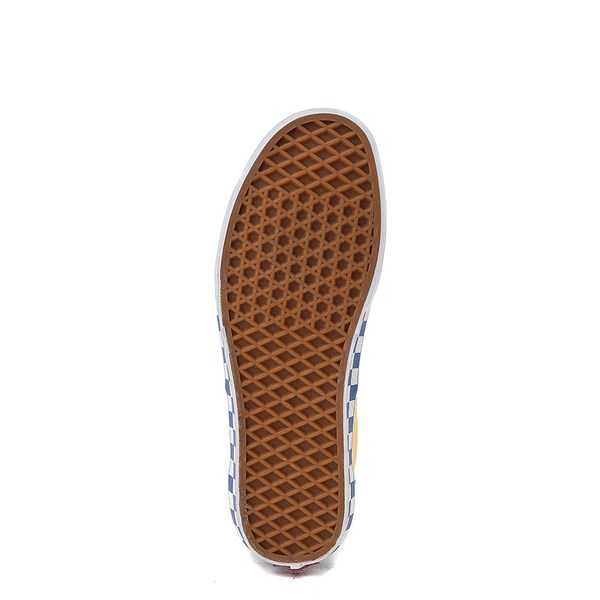 alternate view Vans Era BMX Checkerboard Skate Shoe - Blue / YellowALT5