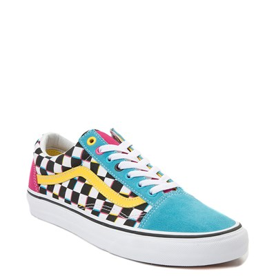 Alternate view of Vans Old Skool Checkerboard Skate Shoe - Multi