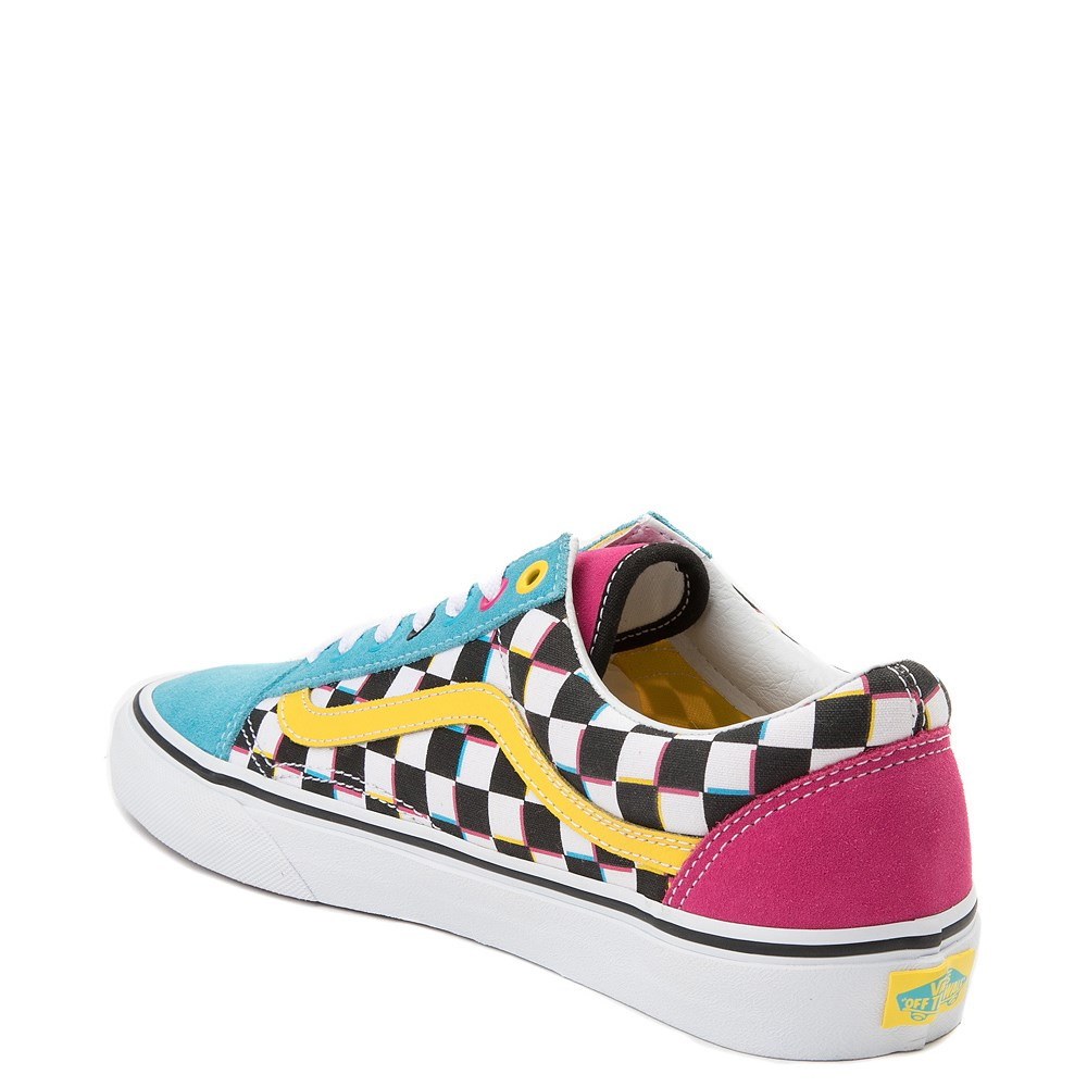 f669a2590b926d Vans Old Skool Chex Skate Shoe