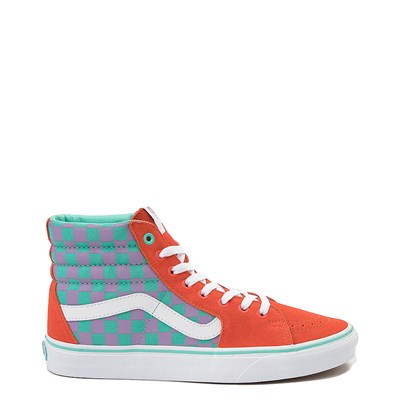 Main view of Vans Sk8 Hi Chex Skate Shoe