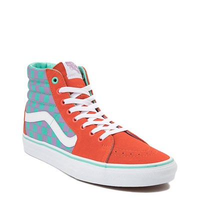 Alternate view of Vans Sk8 Hi Chex Skate Shoe