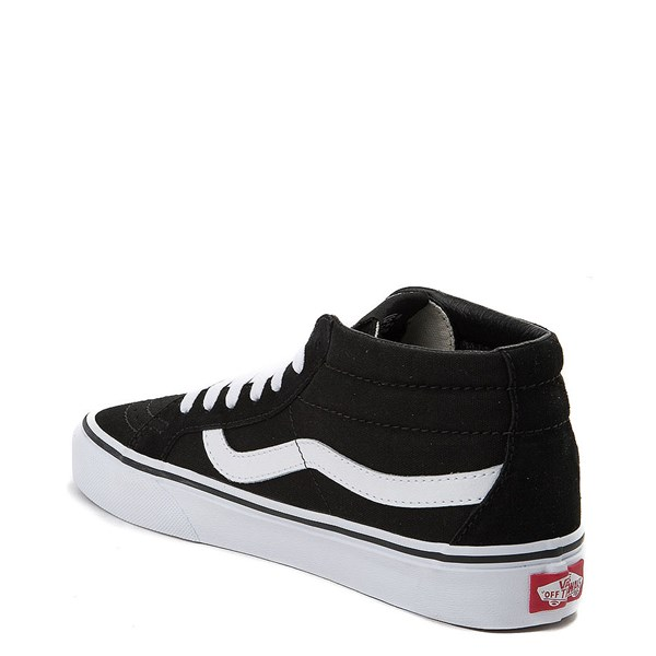 alternate view Vans Sk8 Mid Rose Skate ShoeALT2
