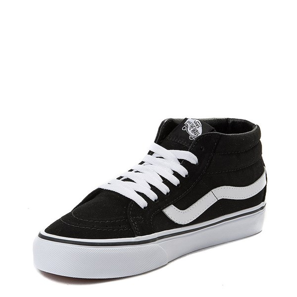 alternate view Vans Sk8 Mid Rose Skate ShoeALT3