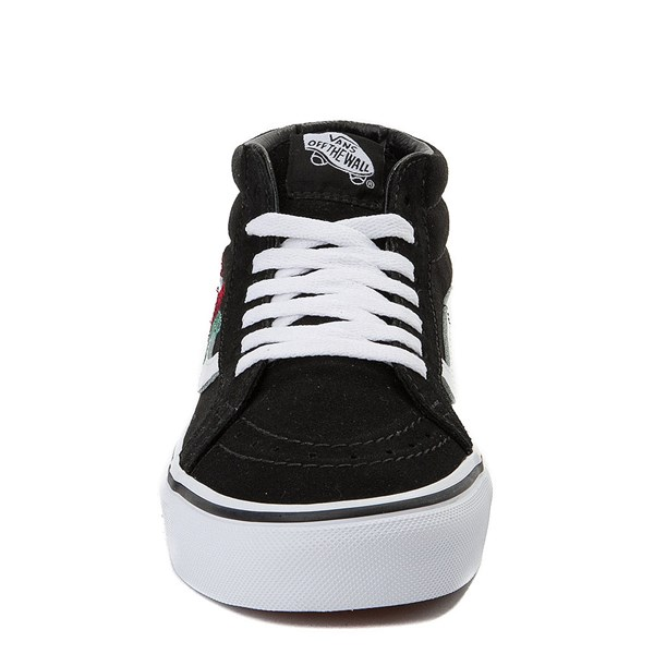 alternate view Vans Sk8 Mid Rose Skate ShoeALT4