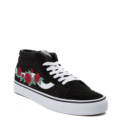 Alternate view of Vans Sk8 Mid Rose Skate Shoe
