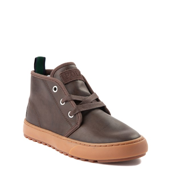 alternate view Chett Casual Shoe by Polo Ralph Lauren - Little Kid - BrownALT1