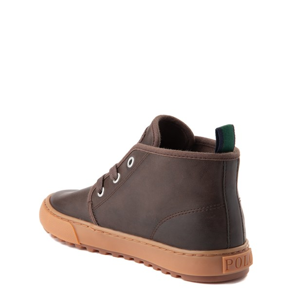 alternate view Chett Casual Shoe by Polo Ralph Lauren - Little Kid - BrownALT2