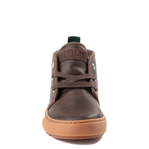 alternate view Chett Casual Shoe by Polo Ralph Lauren - Big Kid - BrownALT4