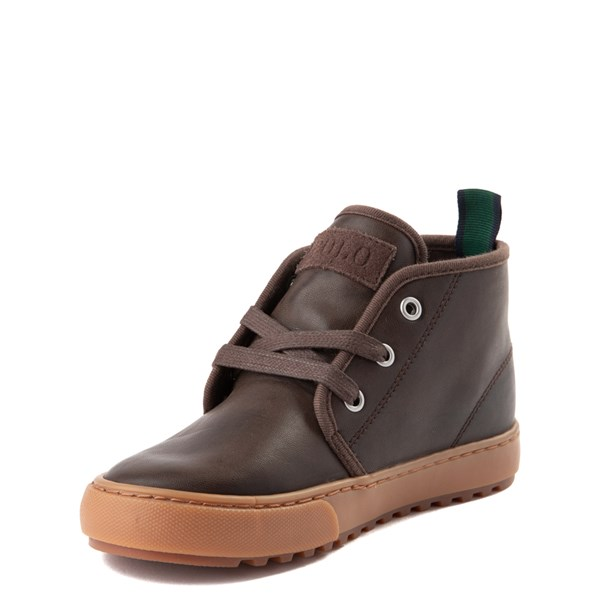 alternate view Chett Casual Shoe by Polo Ralph Lauren - Big Kid - BrownALT3