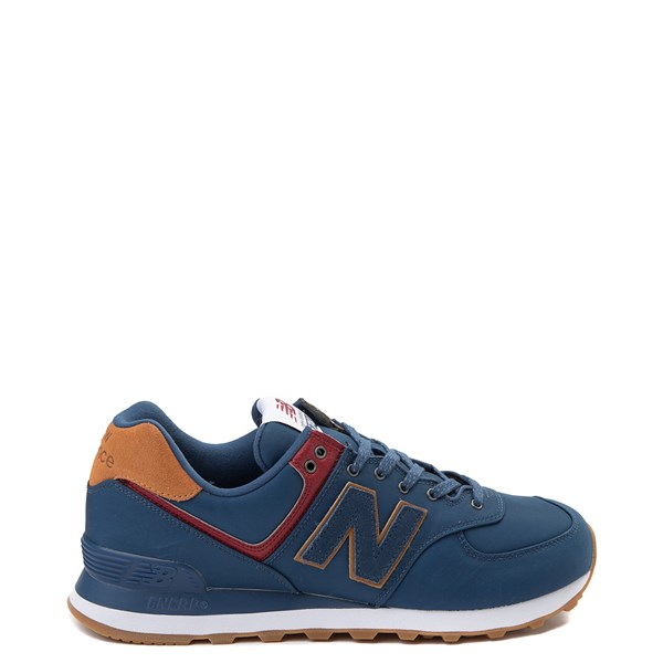 Mens New Balance 574 Athletic Shoe - Navy / Tan
