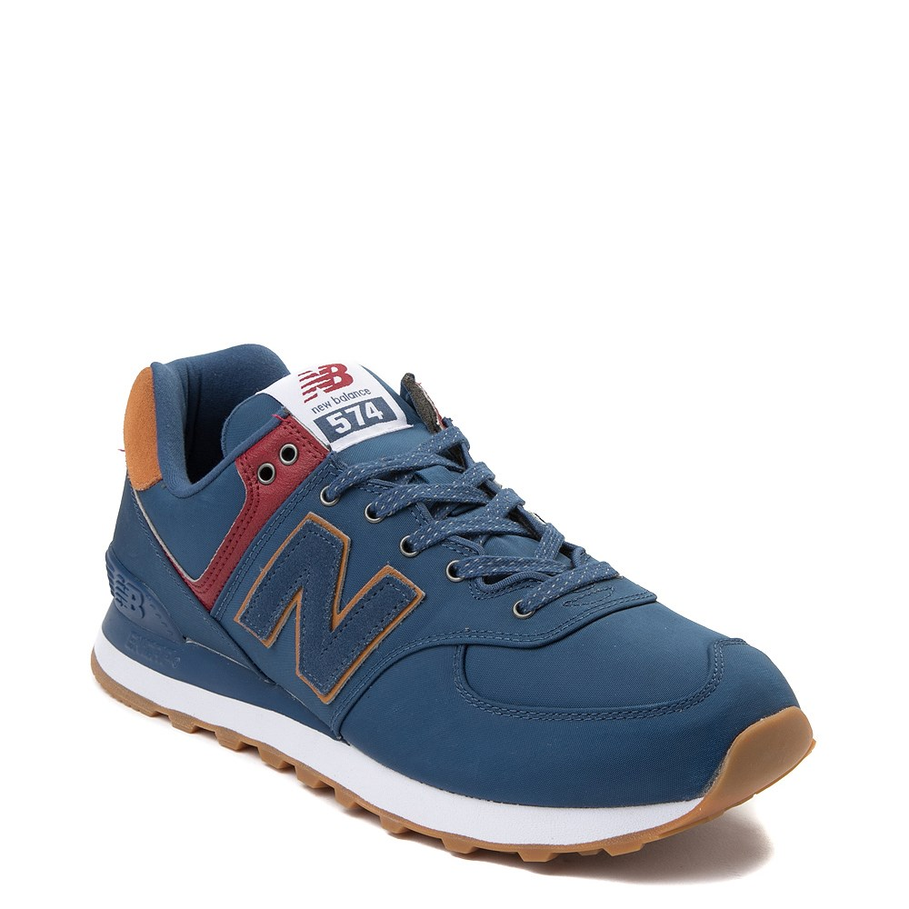 new balance brown and blue