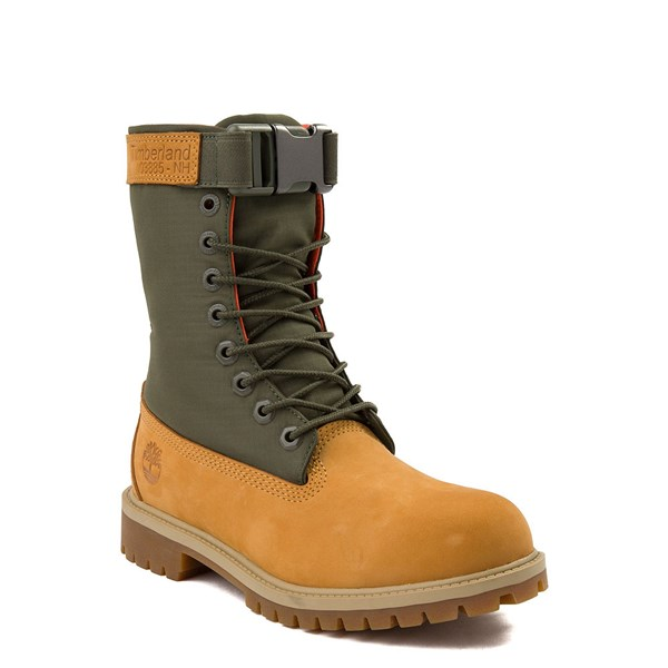 Alternate view of Timberland Mixed-Media Gaiter Boot - Big Kid