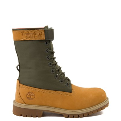 Main view of Tween Timberland Mixed-Media Gaiter Boot