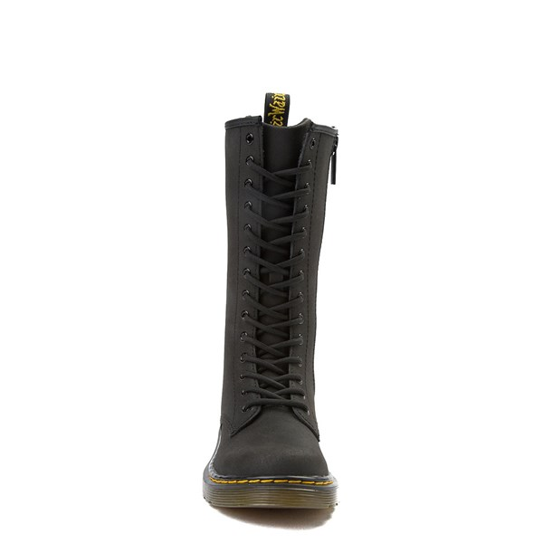 alternate view Dr. Martens 1914 14-Eye Boot - Little Kid - BlackALT4