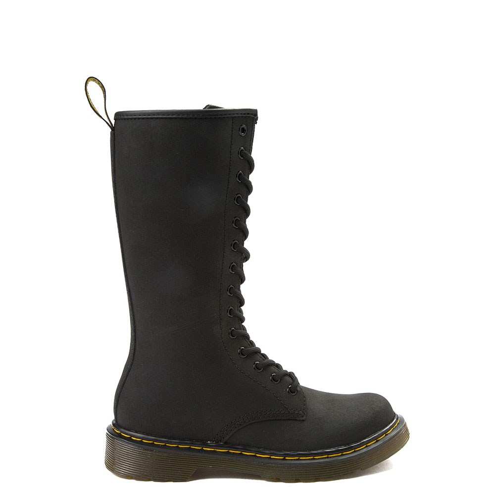 Dr. Martens 1914 14-Eye Boot - Little Kid - Black