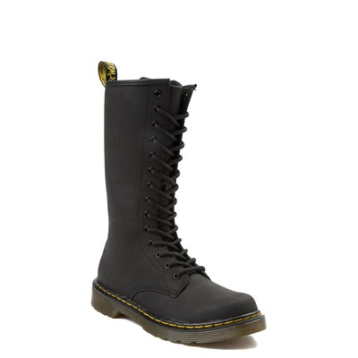 Alternate view of Dr. Martens 1914 14-Eye Boot - Big Kid - Black