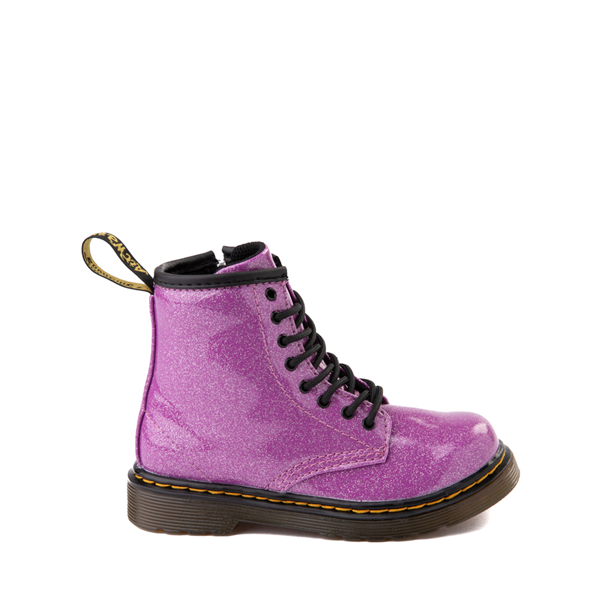 Main view of Dr. Martens 1460 8-Eye Glitter Boot - Toddler - Pink
