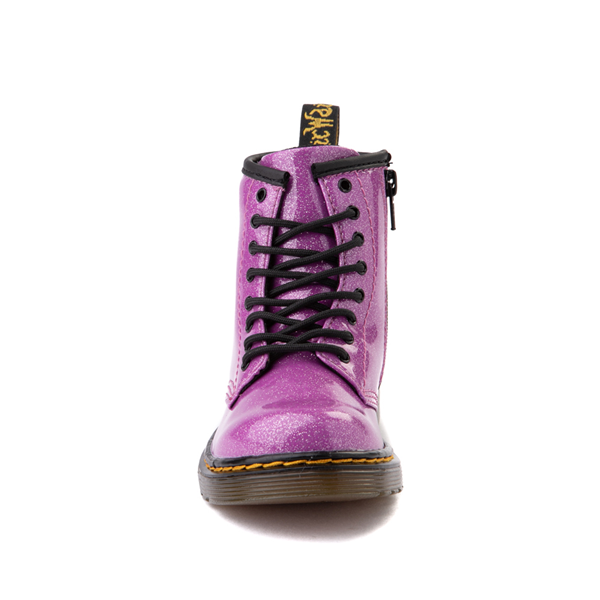 alternate view Dr. Martens 1460 8-Eye Glitter Boot - Girls Toddler - PinkALT4