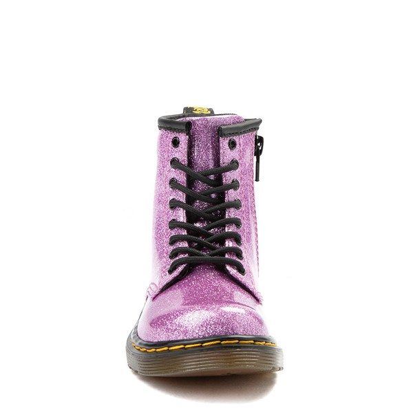 alternate view Dr. Martens 1460 8-Eye Glitter Boot - Girls ToddlerALT4