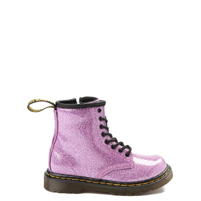 Main view of Dr. Martens 1460 8-Eye Glitter Boot - Girls Toddler