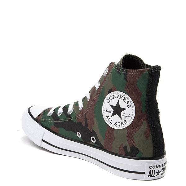 alternate view Converse Chuck Taylor All Star Hi Rose Patch SneakerALT2