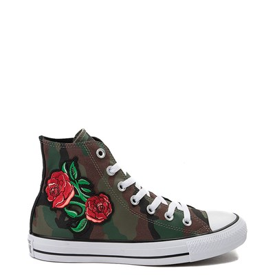 Main view of Converse Chuck Taylor All Star Hi Rose Patch Sneaker