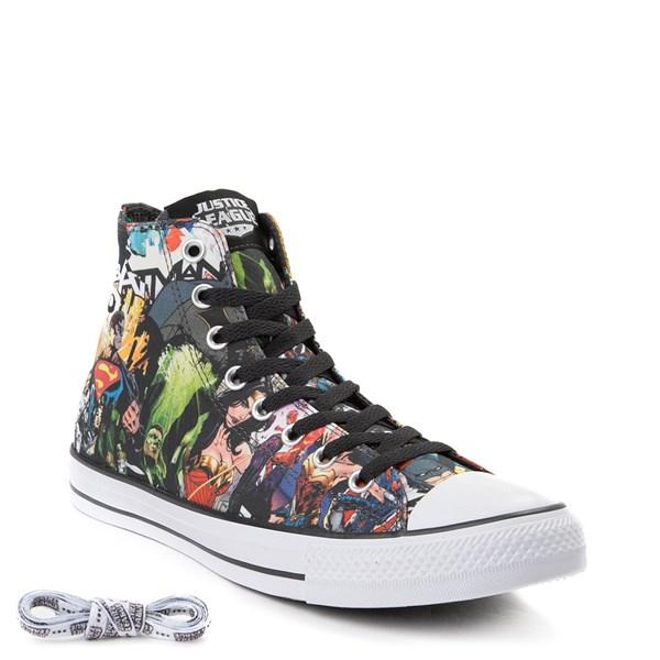 alternate view Converse Chuck Taylor All Star Hi DC Comics Justice League SneakerALT1B