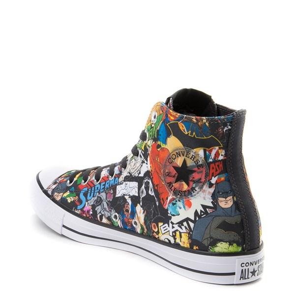 alternate view Converse Chuck Taylor All Star Hi DC Comics Justice League SneakerALT2
