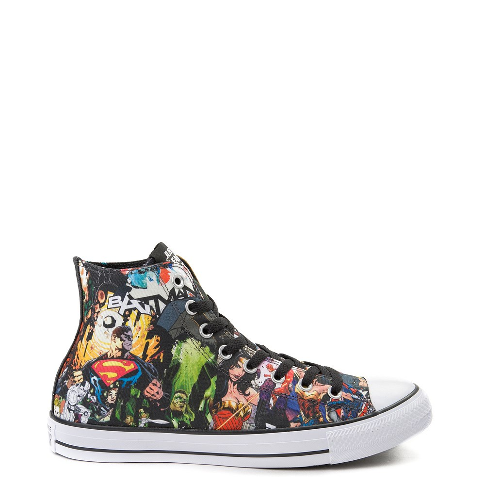 17f0c3e49708 Converse Chuck Taylor All Star Hi DC Comics Justice League Sneaker ...
