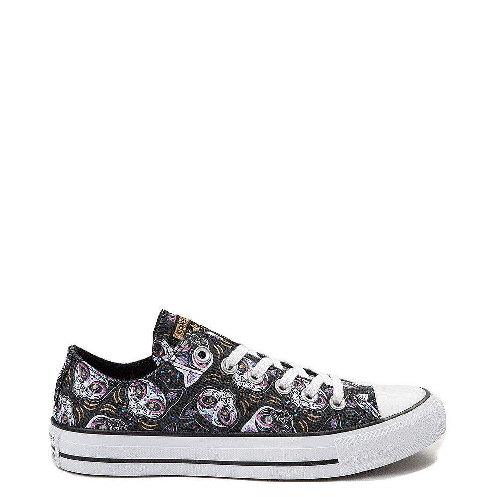 Converse Chuck Taylor All Star Lo Sugar Skull Cats Sneaker