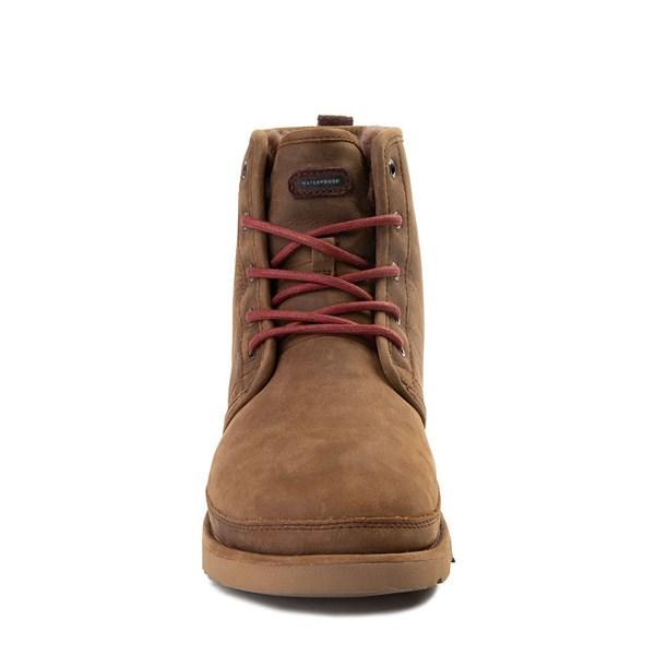 alternate view Mens UGG® Harkley Waterproof Boot - GrizzlyALT4