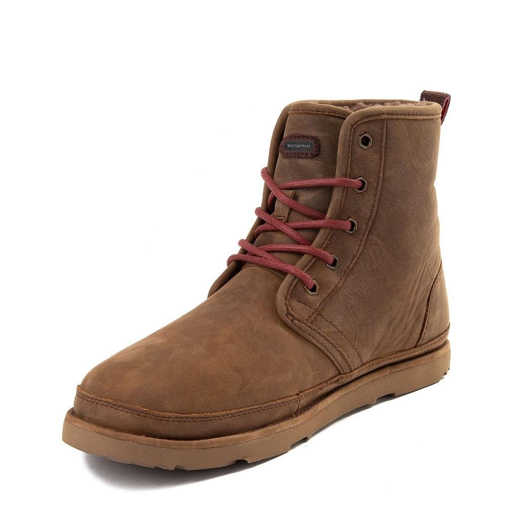 Mens UGG® Harkley Waterproof Boot Grizzly