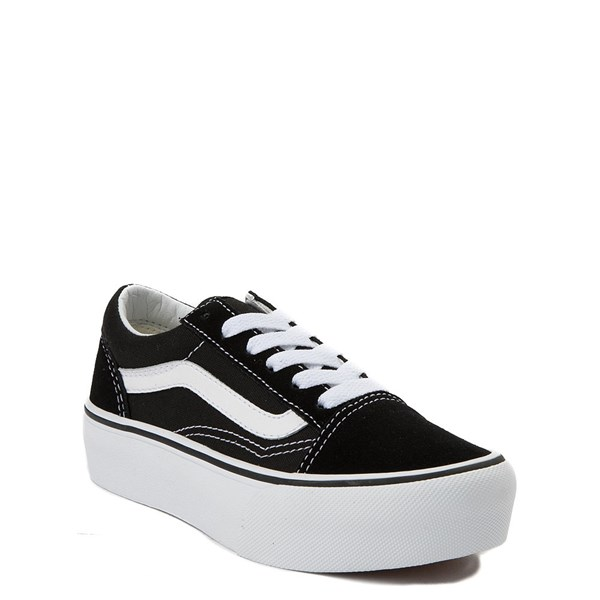 Alternate view of Vans Old Skool Platform Skate Shoe - Little Kid