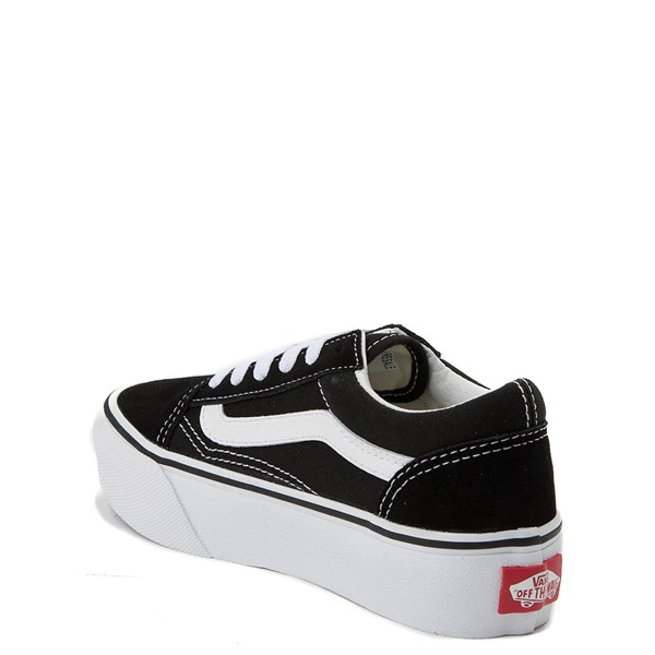 alternate view Vans Old Skool Platform Skate Shoe - Little KidALT2