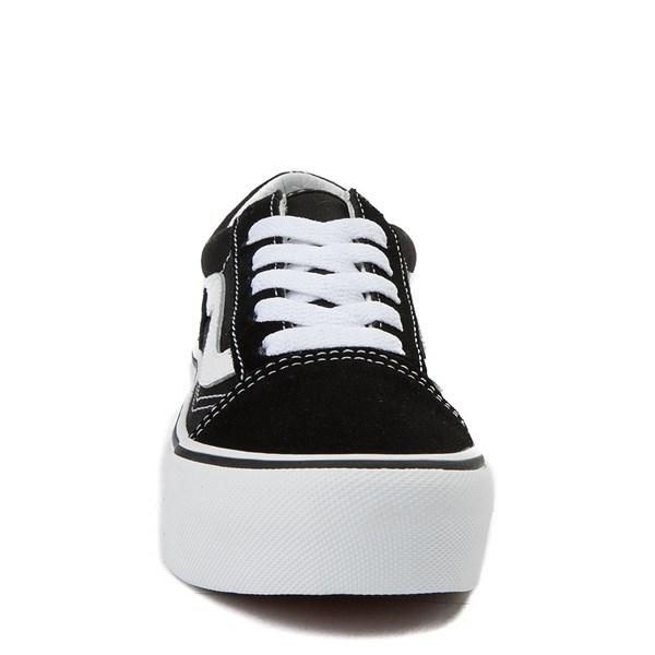 alternate view Vans Old Skool Platform Skate Shoe - Little KidALT4