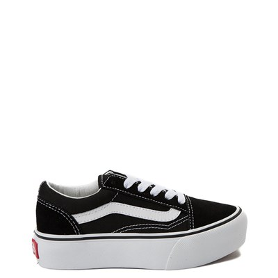 Vans Old Skool Platform Skate Shoe - Little Kid