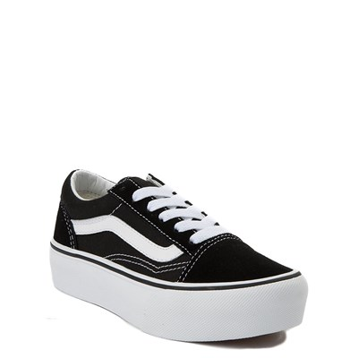 Alternate view of Youth Vans Old Skool Platform Skate Shoe