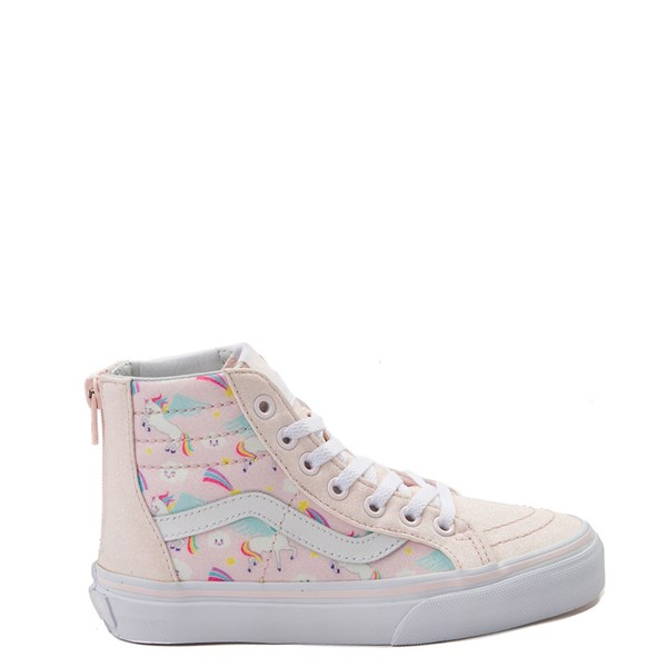 Vans Sk8 Hi Zip Pegasus Skate Shoe - Little Kid / Big Kid