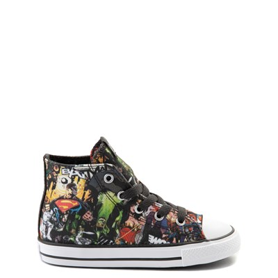 Main view of Converse Chuck Taylor All Star Hi DC Comics Justice League Sneaker - Baby / Toddler