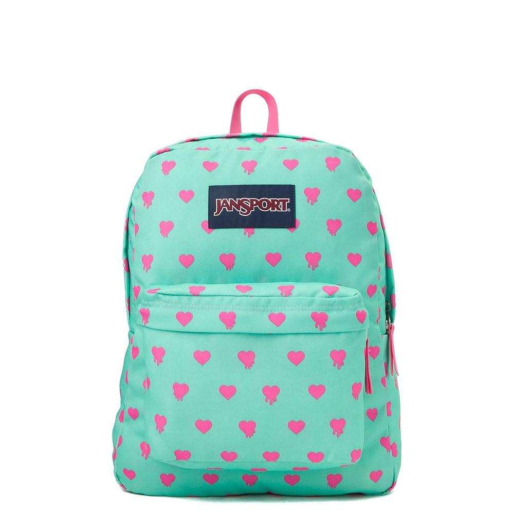 JanSport Superbreak Bleeding Heart Backpack