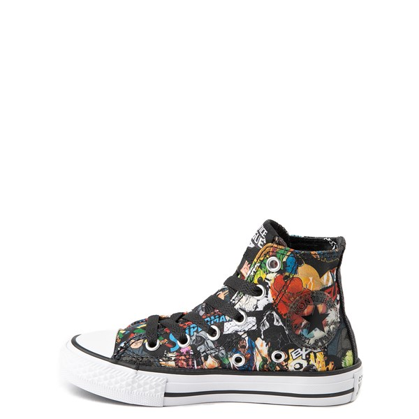 alternate view Converse Chuck Taylor All Star Hi DC Comics Justice League Sneaker - Little KidALT1