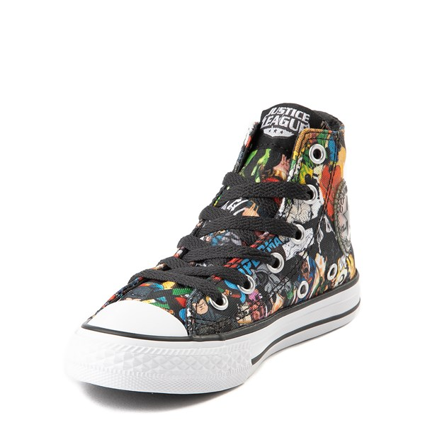 alternate view Converse Chuck Taylor All Star Hi DC Comics Justice League Sneaker - Little KidALT3