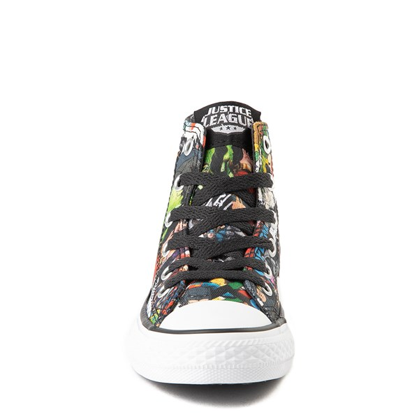alternate view Converse Chuck Taylor All Star Hi DC Comics Justice League Sneaker - Little KidALT4