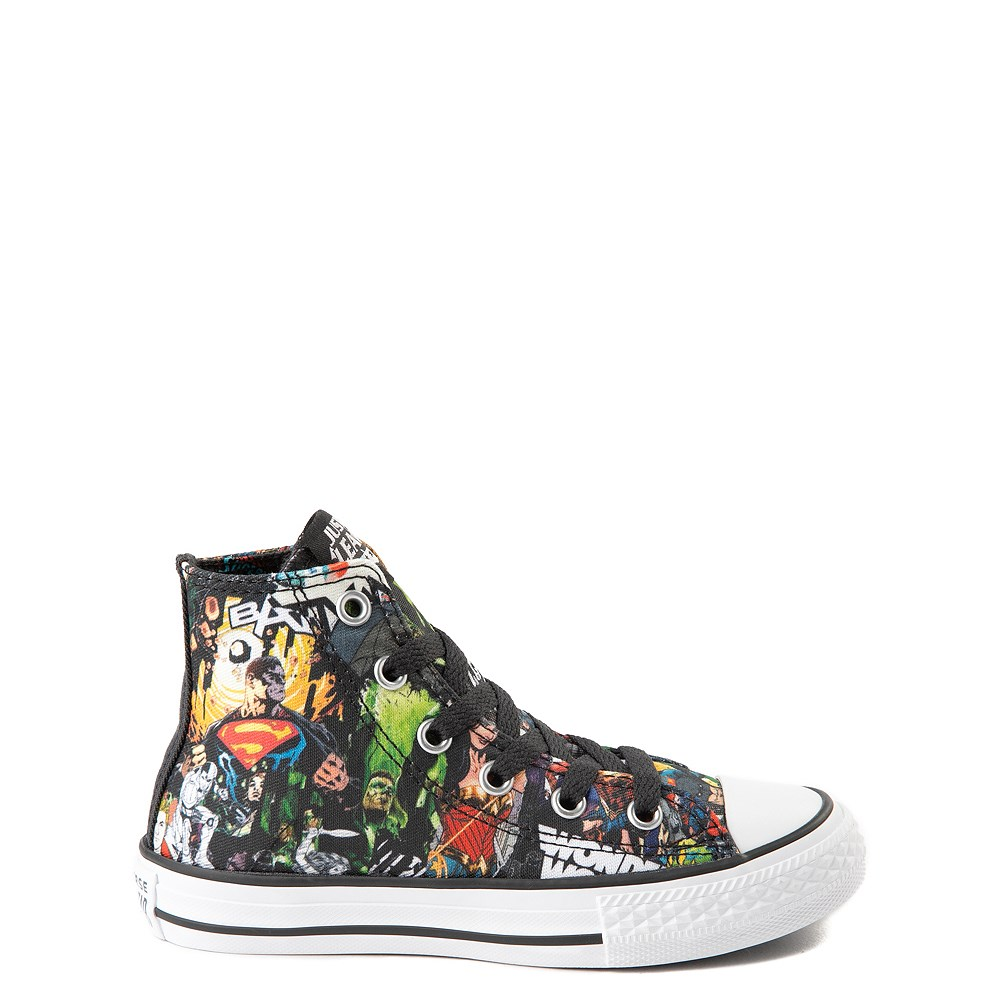 dee8a2818b000b Converse Chuck Taylor All Star Hi DC Comics Justice League Sneaker - Little  Kid. Previous. alternate image ALT5. alternate image default view