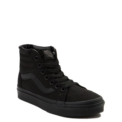 Alternate view of Vans Sk8 Hi Zip Skate Shoe - Little Kid
