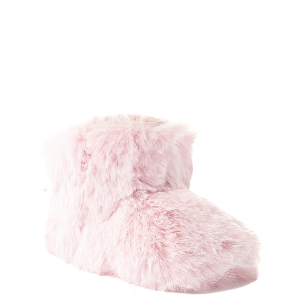 alternate view UGG® Jesse Bow Fluff Boot - Baby / Toddler - Light PinkALT1
