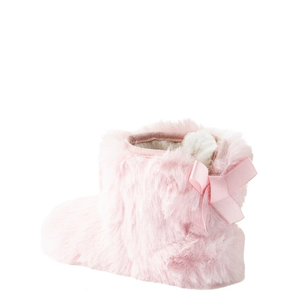 alternate view UGG® Jesse Bow Fluff Boot - Baby / Toddler - Light PinkALT2
