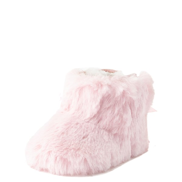 alternate view UGG® Jesse Bow Fluff Boot - Baby / Toddler - Light PinkALT3