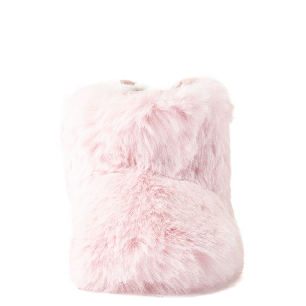 alternate view UGG® Jesse Bow Fluff Boot - Baby / Toddler - Light PinkALT4
